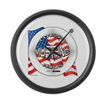 Mustang Classic 2012 Large Wall Clock