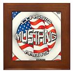 Mustang Classic 2012 Framed Tile