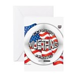 Mustang Classic 2012 Greeting Card