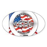 Mustang Classic 2012 Sticker (Oval 50 pk)