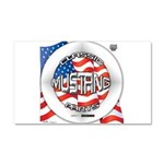 Mustang Classic 2012 Car Magnet 20 x 12