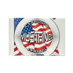 Mustang Classic 2012 Rectangle Magnet