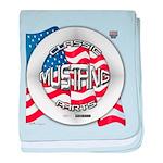 Mustang Classic 2012 baby blanket