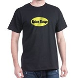 Baton Rouge, Louisiana Black T-Shirt