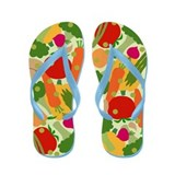 Very Veggie [light] Flip Flops