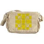 Yellow Owls Design Messenger Bag