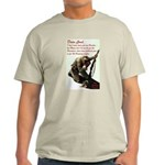 A Soldier's Prayer Ash Grey T-Shirt