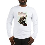 A Soldier's Prayer Long Sleeve T-Shirt