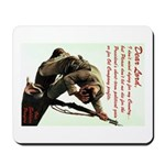 A Soldier's Prayer Mousepad