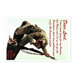 A Soldier's Prayer Postcards (8 Pack)