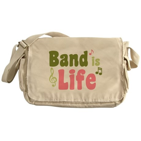 Band is Life Messenger Bag