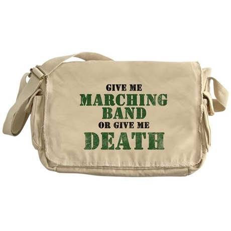 Band or Death Messenger Bag