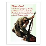 A Soldier's Prayer Small Poster