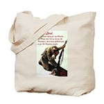 A Soldier's Prayer Tote Bag
