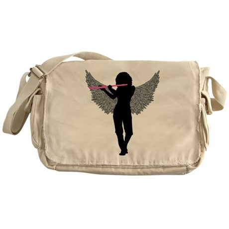 Flute Wings Messenger Bag