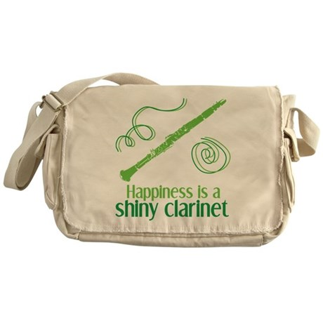 Shiny Clarinet Messenger Bag