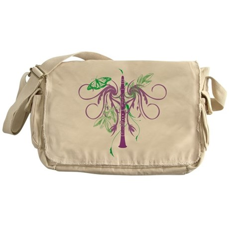 Fantasy Clarinet Messenger Bag