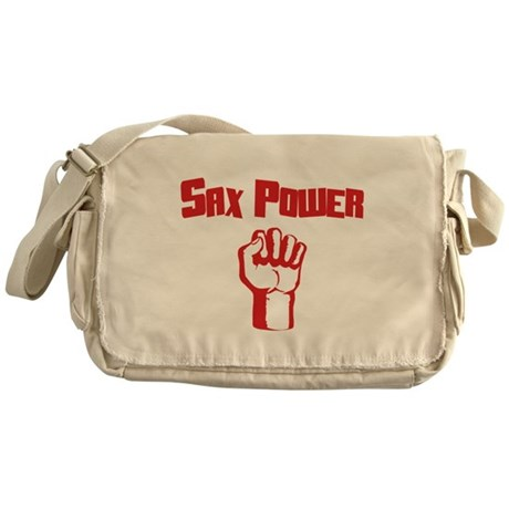 Sax Power Messenger Bag