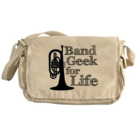 Band Geek for Life Messenger Bag
