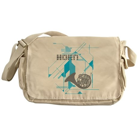 Tech Horn Messenger Bag