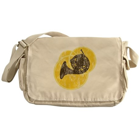 Horn Circles Messenger Bag