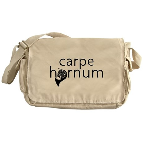 Carpe Hornum Messenger Bag