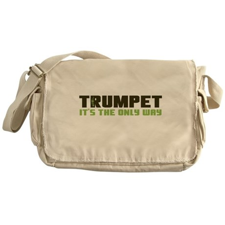 Trumpet Messenger Bag