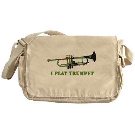 Camo Trumpet Messenger Bag