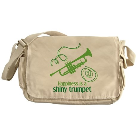 Shiny Trumpet Messenger Bag