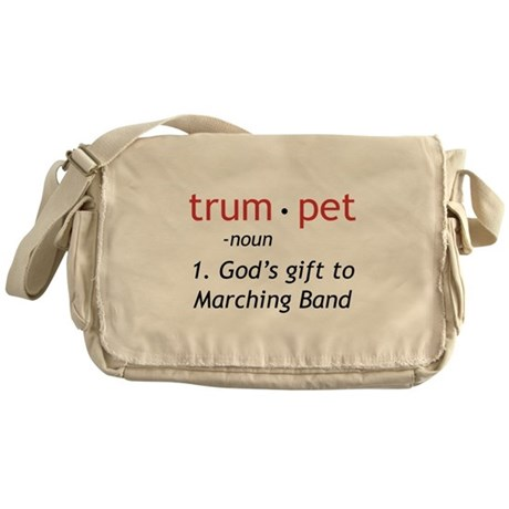 God's Gift Trumpet Messenger Bag
