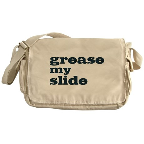 Grease My Slide Messenger Bag