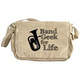 Baritone Band Geek Messenger Bag