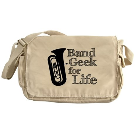 Tuba Band Geek Messenger Bag