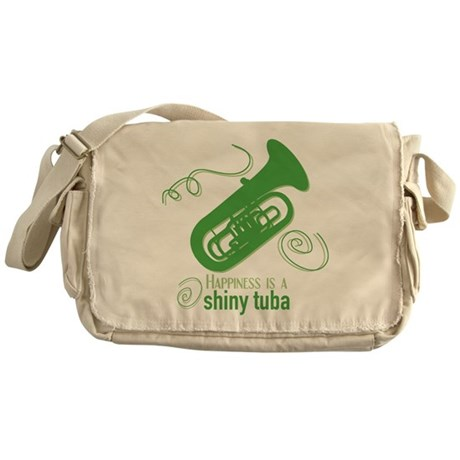 Shiny Tuba Messenger Bag