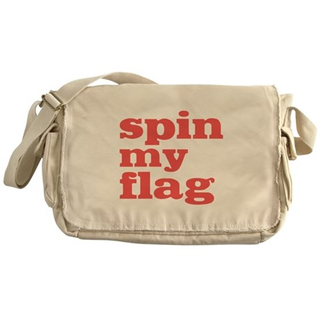 Spin My Flag Messenger Bag