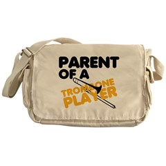 Trombone Parent Messenger Bag