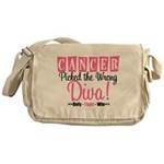 Cancer Wrong Diva Messenger Bag