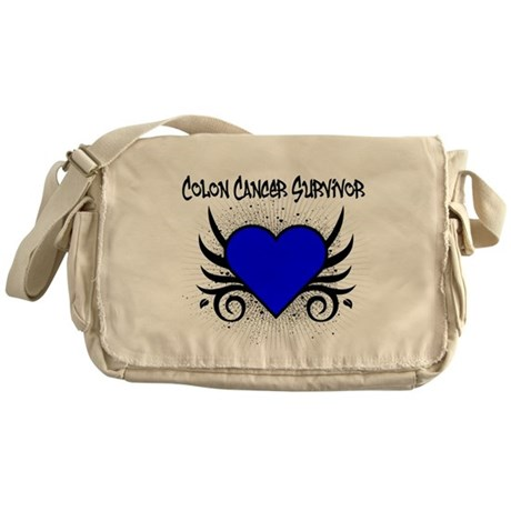 Colon Cancer Survivor Messenger Bag