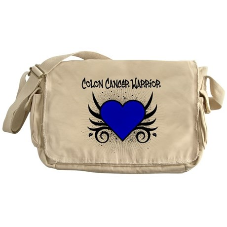 Colon Cancer Warrior Messenger Bag