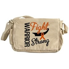 Leukemia Warrior Fight Messenger Bag