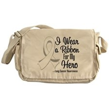 Hero - Lung Cancer Messenger Bag