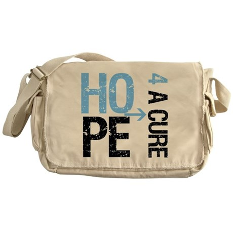 Hope Cure Prostate Cancer Messenger Bag