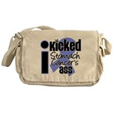 IKickedStomachCancerAss Messenger Bag