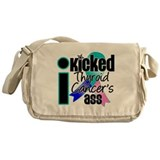 IKickedThyroidCancerAss Messenger Bag