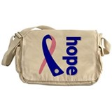 Hope Ribbon Messenger Bag
