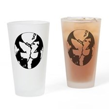 Black/White Discgaea Drinking Glass