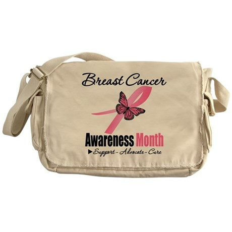 Breast Cancer Month Support Messenger Bag
