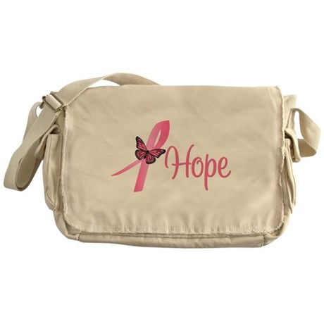 Breast Cancer Hope Messenger Bag