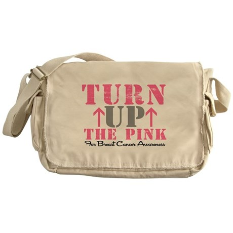 Turn Up The Pink (BC2) Messenger Bag
