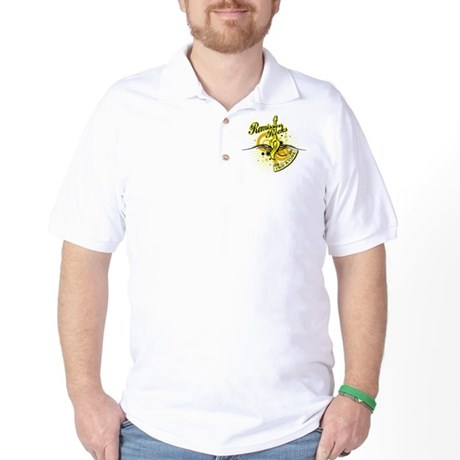 Testicular Cancer Remission Golf Shirt
